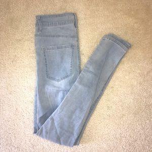 Pacsun Bullhead Skinny Light wash jeans
